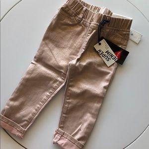 Baby gap shimmer sparkle pink stretch jean